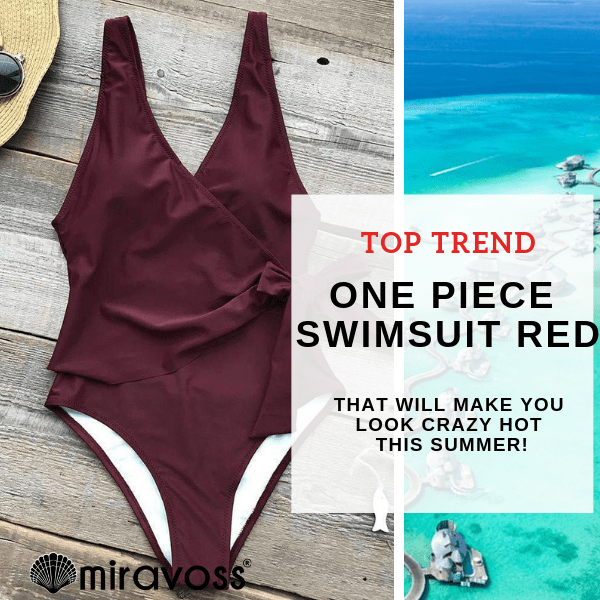 Best one piece swimsuit red (#1 Trend)