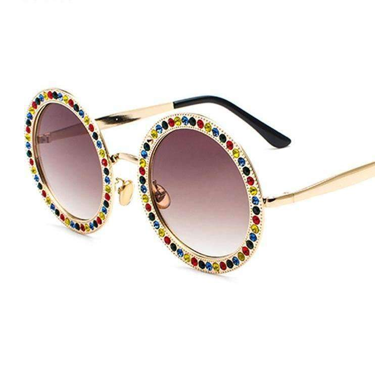 MiraVoss.com:Scared To Be Lonely Sunglasses,Multi
