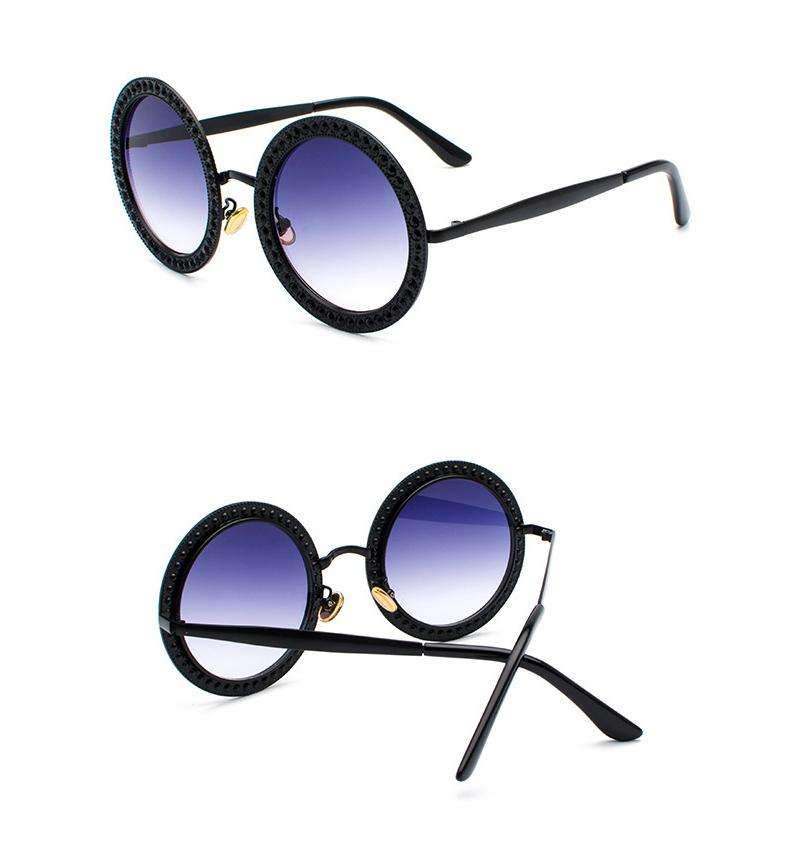 MiraVoss.com:Scared To Be Lonely Sunglasses,Black