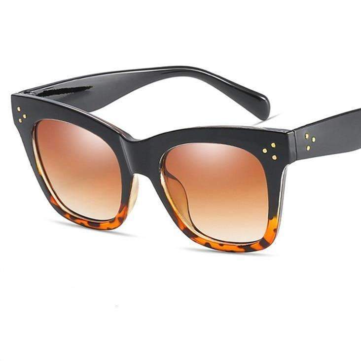 MiraVoss.com:Amber Sunglasses,Brown