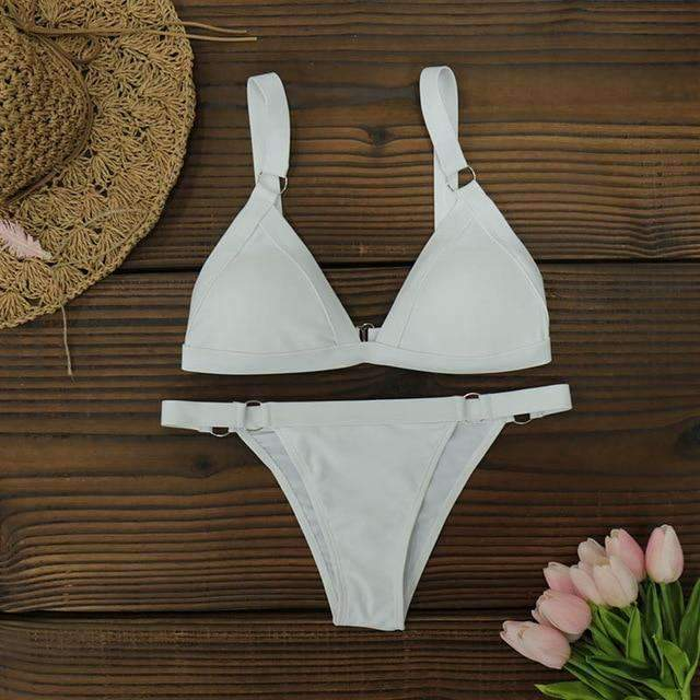 white bikini bottoms high waisted