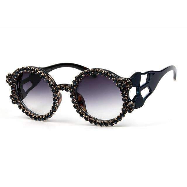MiraVoss.com:Wildest Dreams Sunglasses,Dark blue