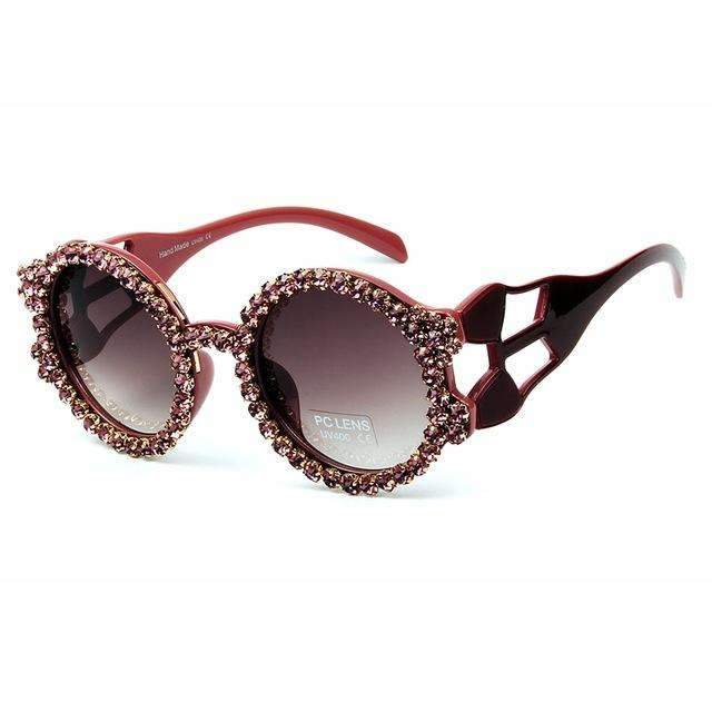 MiraVoss.com:Wildest Dreams Sunglasses,Purple
