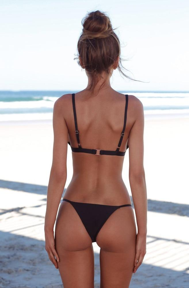 Triangle String Brazilian Bikini