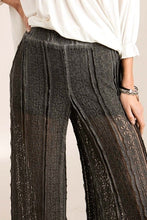 Load image into Gallery viewer, Charcoal Lace Pant