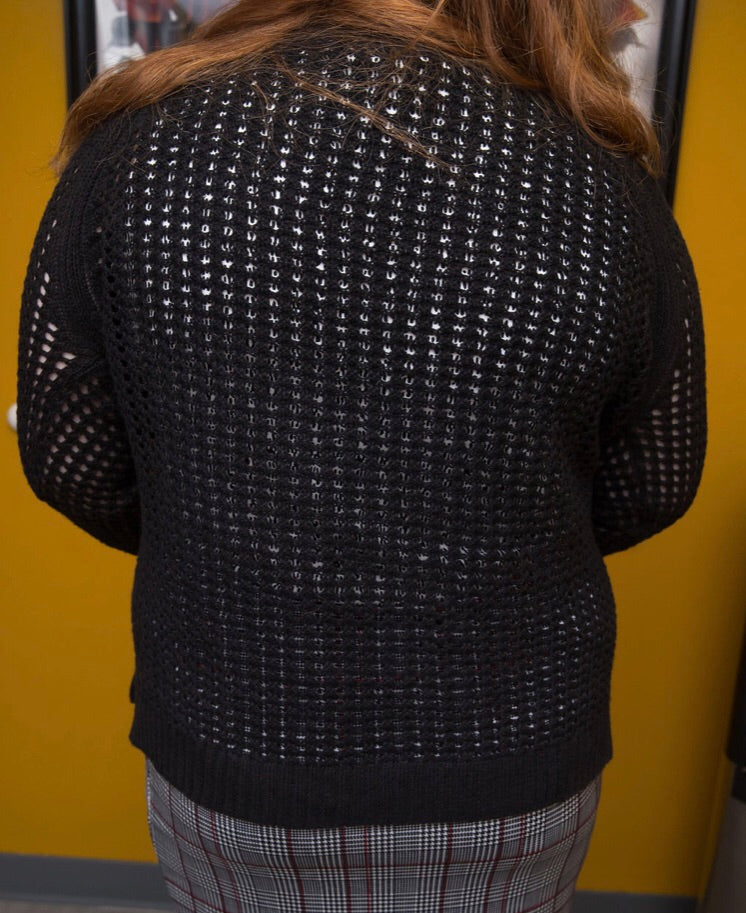 Knit See Through Sweater