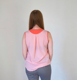 Two Toned Tank Top