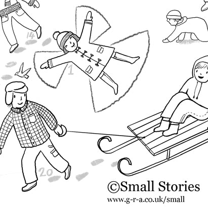 Small Stories Colour In Advent Calendar 2020