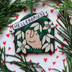 Helleborus decoration