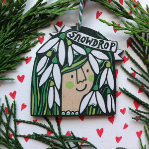 Snowdrop decoration
