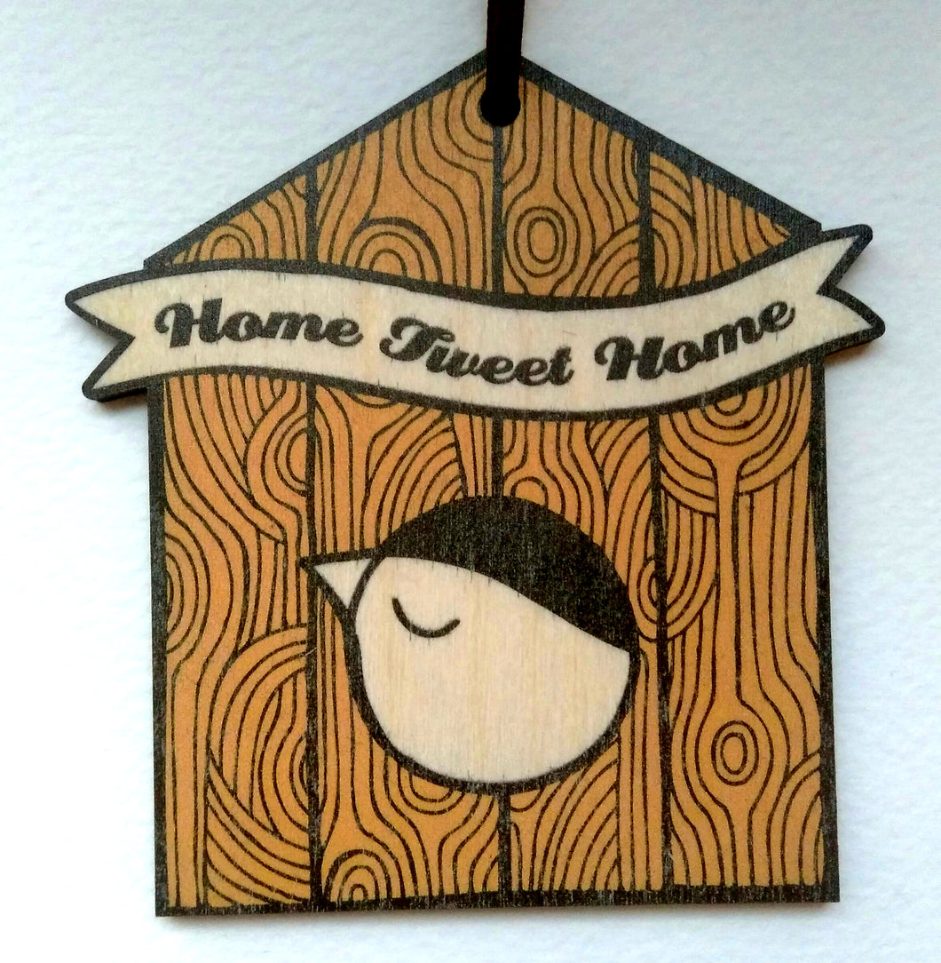 Home Tweet Home wooden decoration