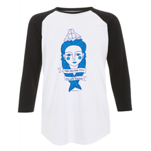 Fishlady Baseball Top