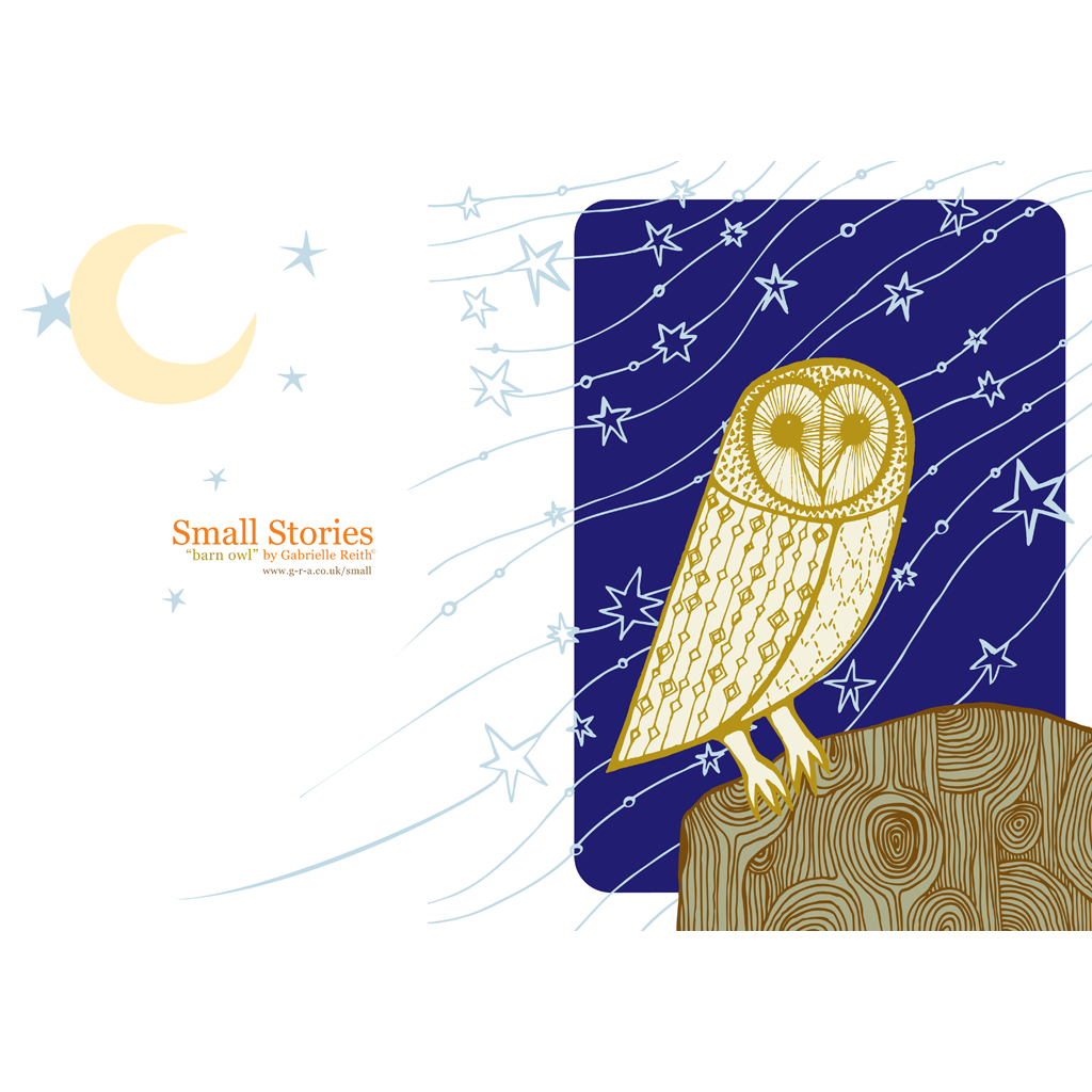 Barn Owl Card