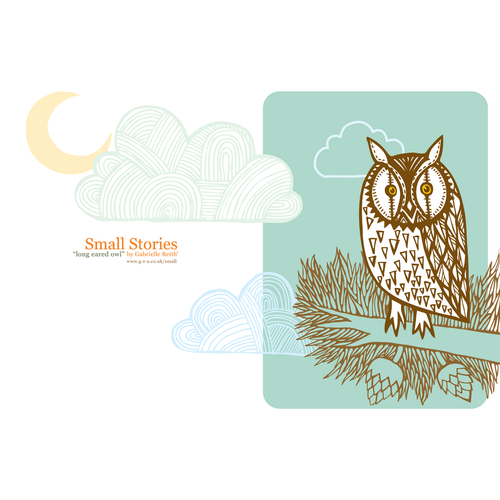 Long Eared Owl Card