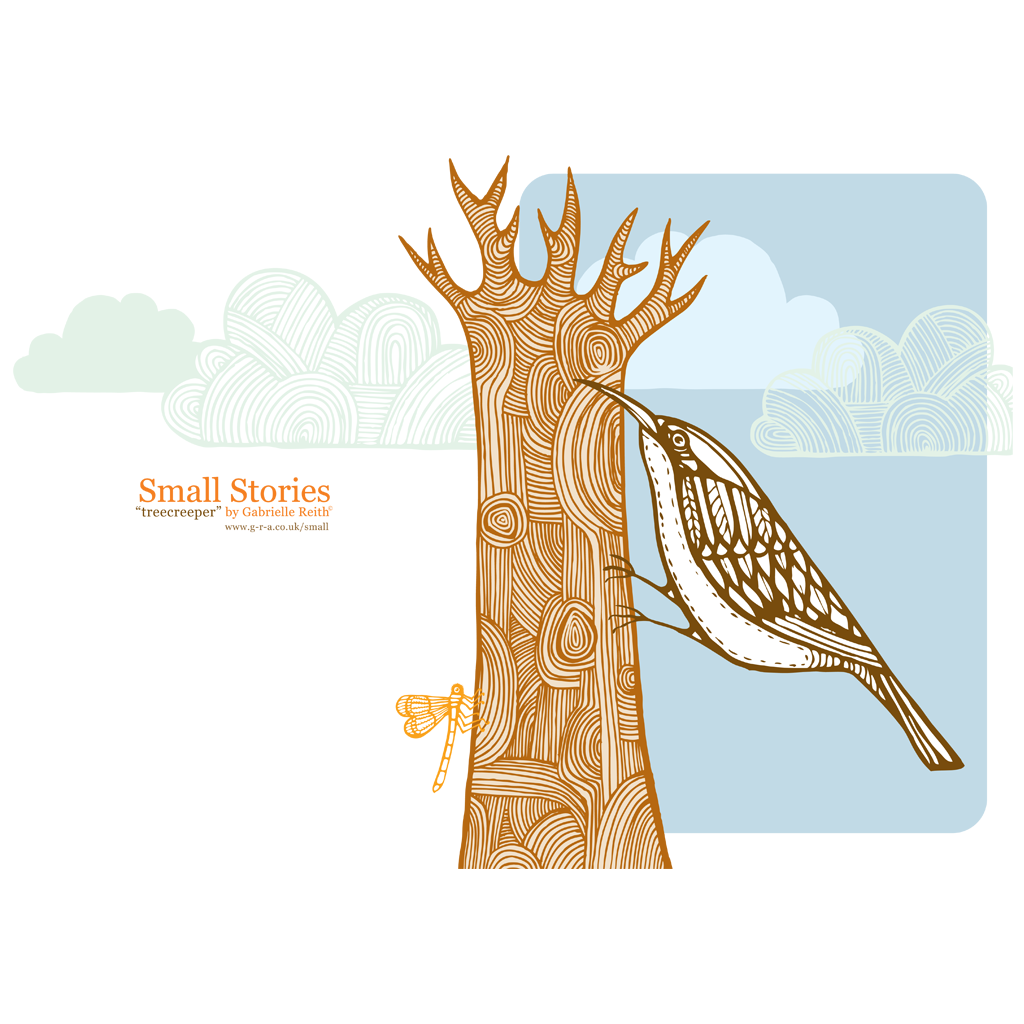 Tree Creeper Card