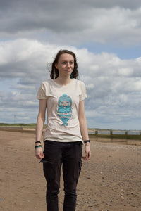 HALF PRICE SALE - Ladies fit Fishman T-Shirt