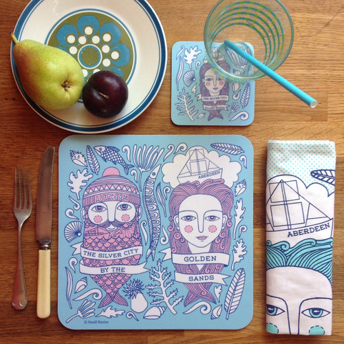 Fishman & Fishwife tablemats (set of 4)