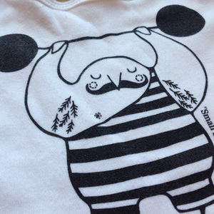 HALF PRICE SALE - Pirate, Burglar or Strong bird Babywear