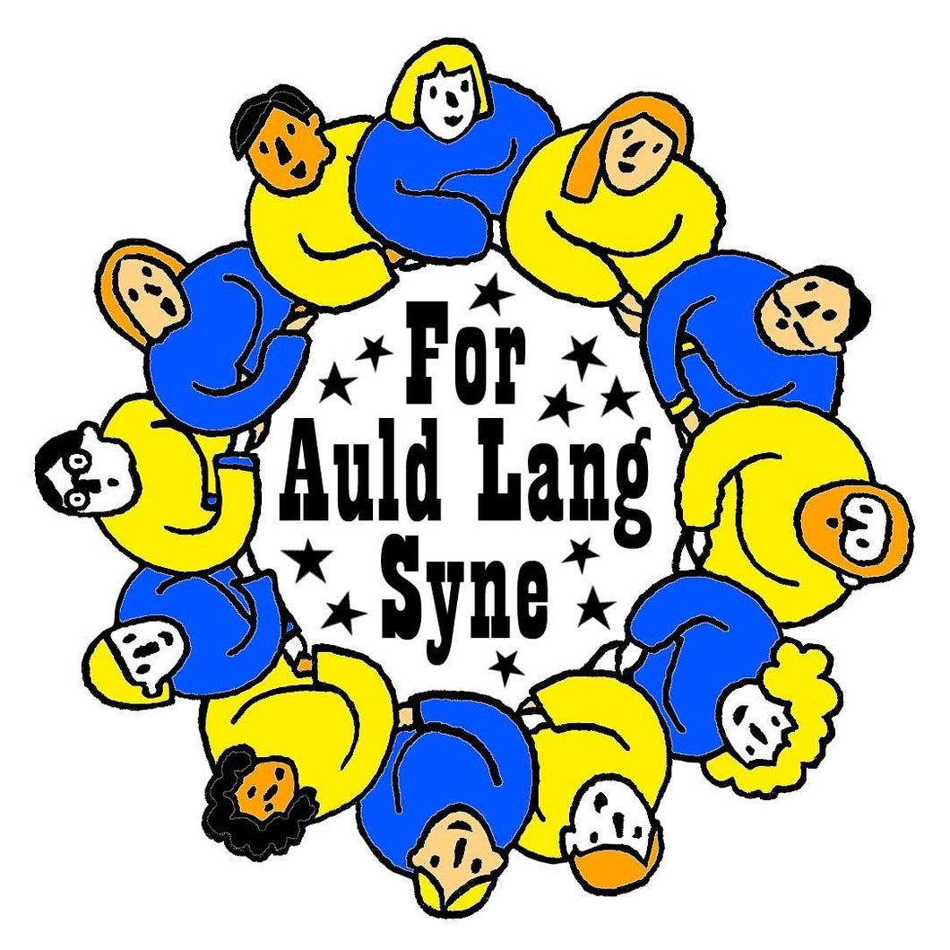 Pre-order - Auld Lang Syne pin