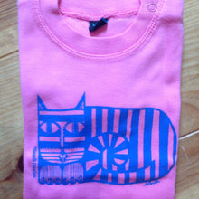 HALF PRICE SALE - Stripey cat Babywear