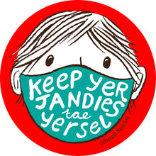 Jandies pin badge