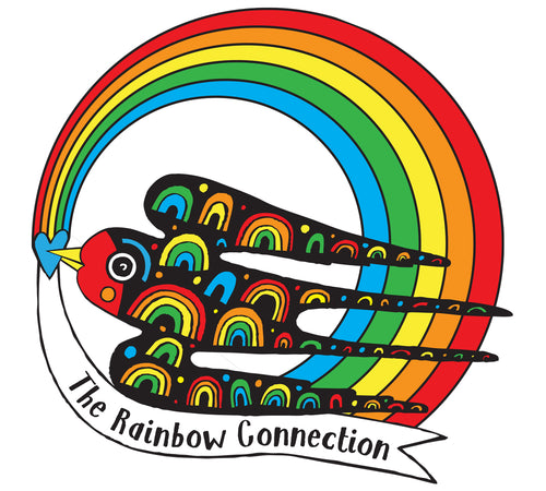 Pre-order Rainbow connection pin