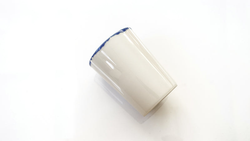 handmade porcelain water glass