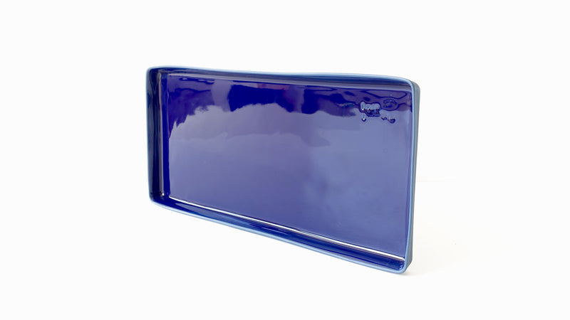 rectangular porcelain tray platter