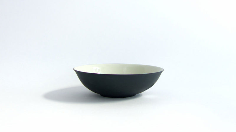 REGISTRY: LANEY AND MAX / PHO BOWL/ BLACK AND WHITE
