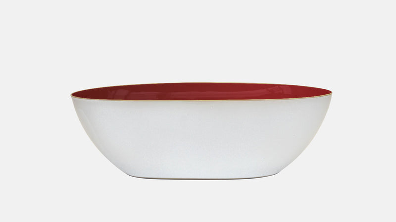 REGISTRY: LANEY AND MAX / VENICE BOWL / DARK RED