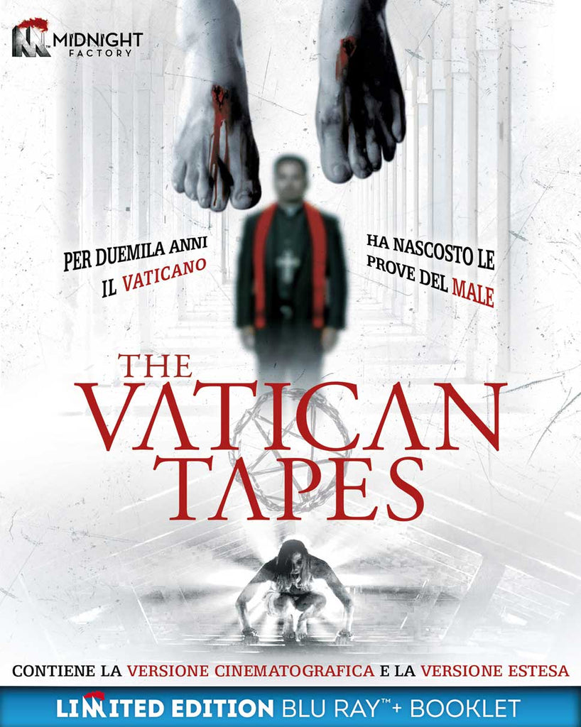 Vatican Tapes (The) (Ltd) (Blu-Ray+Booklet) - Vatican Tapes (The) [Blu-Ray]