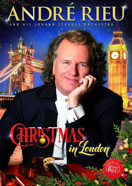 Andre' Rieu - Christmas In London -  [DVD]