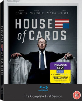 House Of Cards Series 1 Complete (4 Blu-Ray) [Edizione: Regno Unito] -  [Blu-Ray]