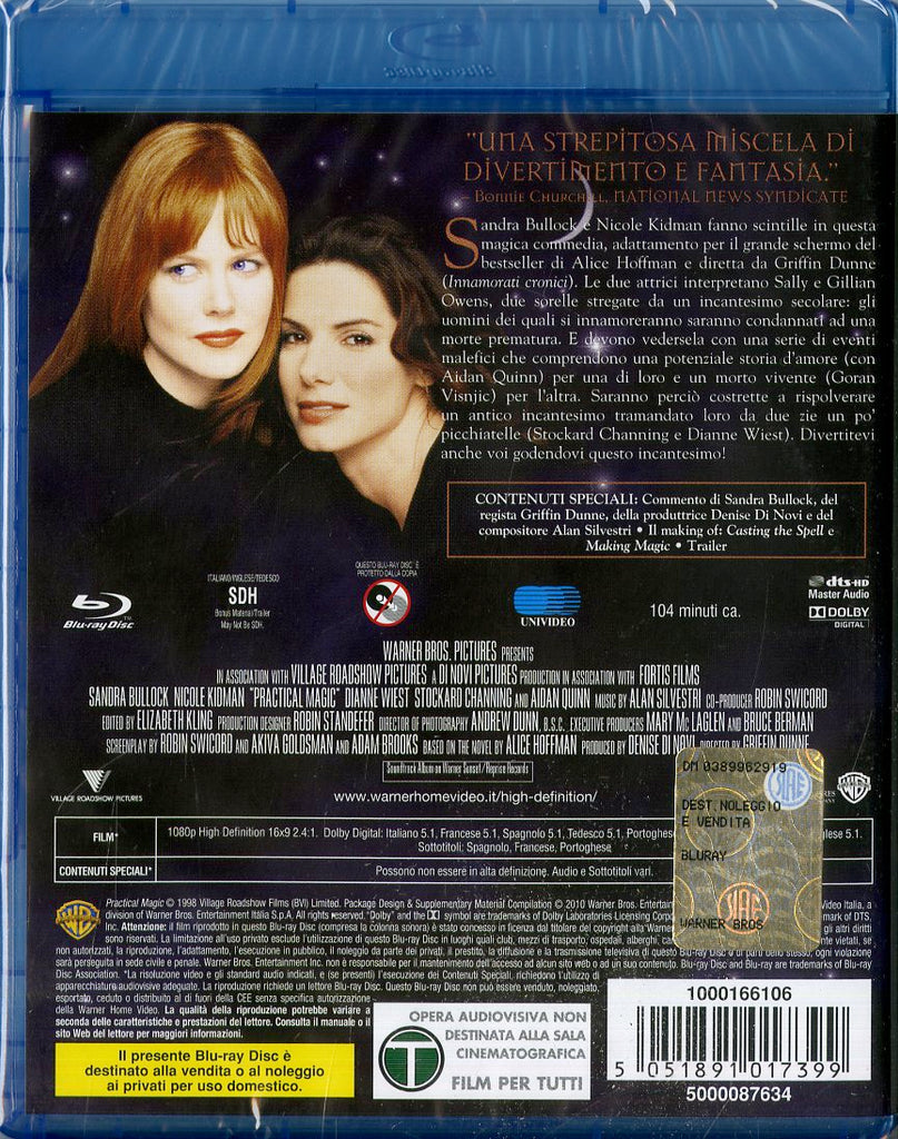 Amori E Incantesimi  [Blu-Ray x 1]
