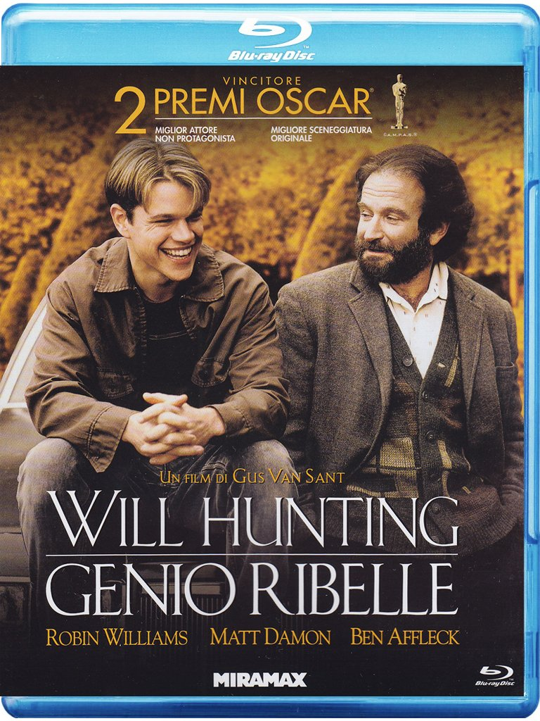 Will Hunting Genio Ribelle - Good Will Hunting [Blu-Ray]