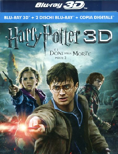 Harry Potter E I Doni Della Morte - Parte 02 (3D) (Blu-Ray 3D+2 Blu-Ray+Copia Digitale) - Harry Potter And The Deathly Hallows - Part 2 [Blu-Ray]