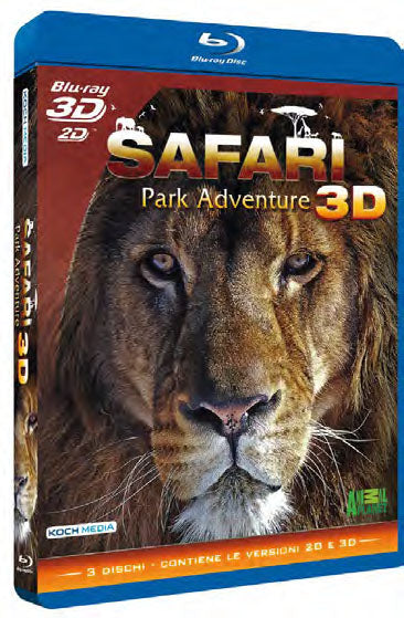 Safari Park Adventure 3D (3 Blu-Ray 3D) - Safari Park Adventure [Blu-Ray]