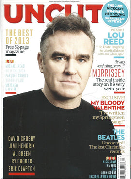 Uncut  Magazine (Morrissey Lou Reed)200January2014