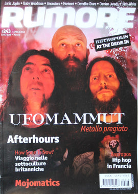 Rumore Magazine (Ufomammut At The Drive In)243Aprile2012