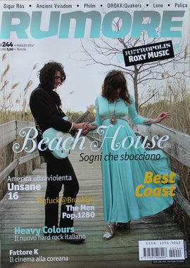 Rumore Magazine (Beach House Roxy Music)244Maggio2012