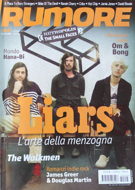Rumore Magazine (Liars The Small Faces)245Giugno2012