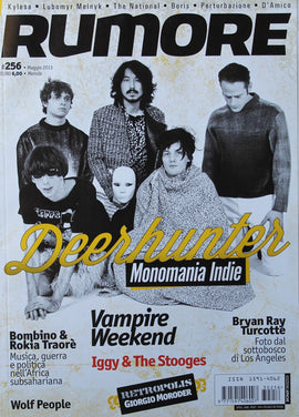 Rumore Magazine (Deerhunter Vampire Weekend)256Maggio2013