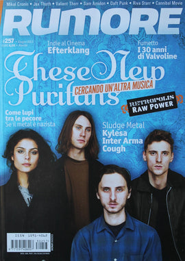 Rumore Magazine (These New Puritans)257Giugno2013