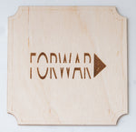 Hand Made Forward Coasters - Set of 4