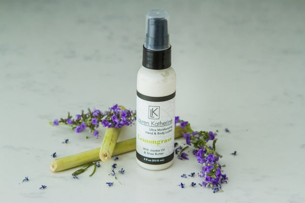 Lemongrass Hand and Body Lotion - Travel size