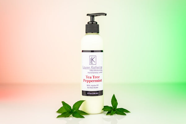 Tea Tree Peppermint Hand and Body Lotion