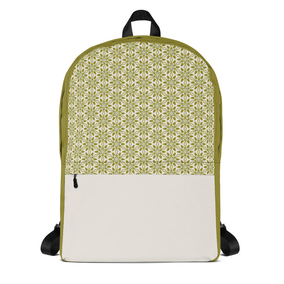 Sour Apple Backpack Laptop Bag