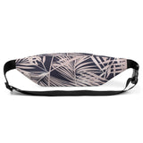 Pink Palm Leaves Hip Bag - Esdee Designs