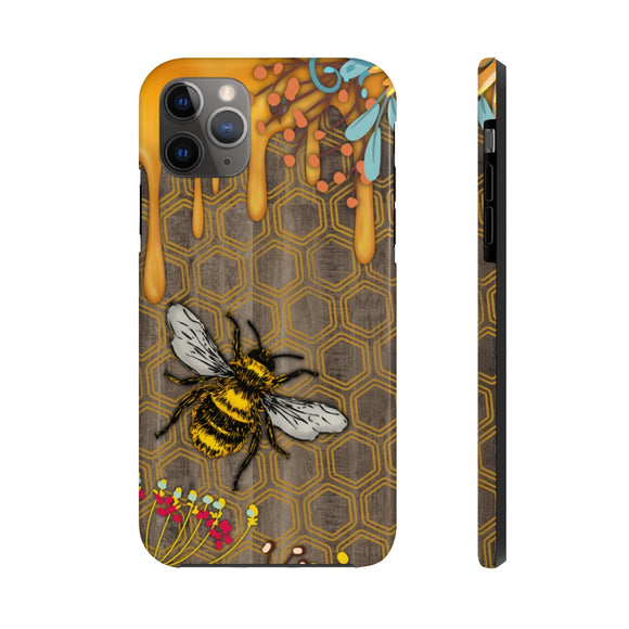 Honey Bee Tough Phone Cases