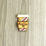 Coffee Lapel Pin/Magnet